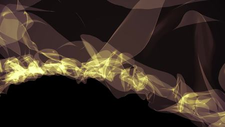 digital stylized turbelent smoke cloud simulation beautiful abstract illustration background new quality cool art nice stock image Stok Fotoğraf