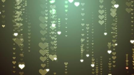 Festive HEART symbol Rain illustration background new quality shape universal glamour colorful joyful holiday music stock image