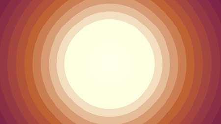 retro style radial background illustration red orange joyful vintage stock image