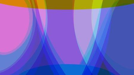 polygon soft pastel colors shape abstract background illustration New quality retro vintage universal colorful joyful dance music stock image Stock Photo