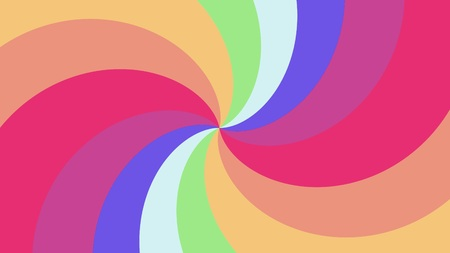 Spiral shape rainbow colors illustration background new quality universal colorful joyful cool nice stock image