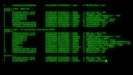 programación cifrada seguridad código de piratería flujo de datos flujo en pantalla nuevos números de calidad letras codificación techno video alegre 4k imagen de stock