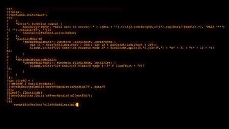 encrypted programming security hacking code data flow stream on display new quality numbers letters coding techno joyful video 4k stock image