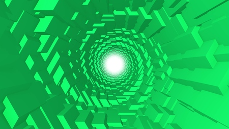 finside 3d colorful polygonal scales tunnel background illustration new quality graphics cool nice beautiful 4k stock image