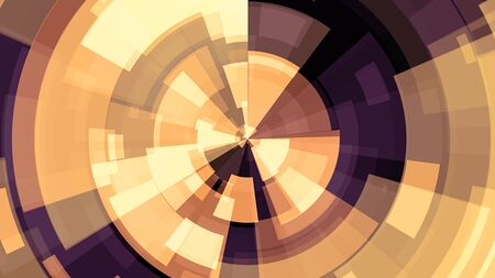 abstract colorful circle block background illustration New quality universal technological colorful joyful dance music 写真素材