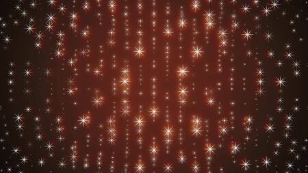 christmas glowing star snowflakes light wall illustration background New quality universal colorful joyful holiday music image 写真素材