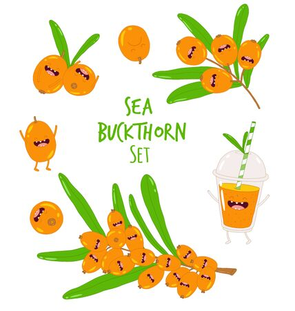 Sea buckthorn smoothies