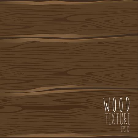 Wooden style texture brown background. Vector illustration Çizim