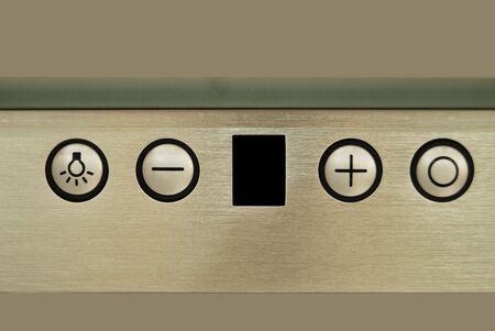 tablero de control: Hay cuatro botones en el panel de control de
