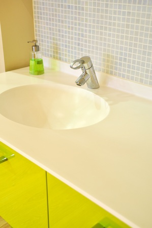 Detail from a modern and contemporary bathroom Stock Photo - 11037278
