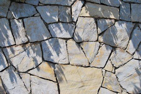 Close up of stone wall photo