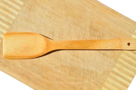 Materiales de cocina cuchara de madera de bambú Foto de archivo - 11099597