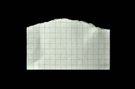 Straight line, clean white torn paper Stock Photo - 11099512