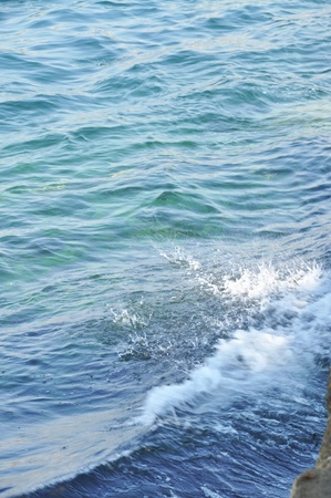 ebullient: Refreshing the beautiful calm sea