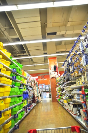 Istanbul Maltepe Carrefour has opened a new branch Stock Photo - 11390254