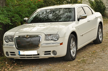 Front view of the Chrysler 300C
