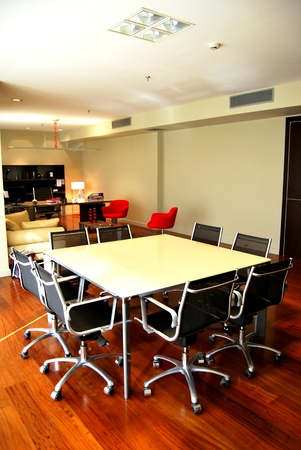 Manager room and small meeting table