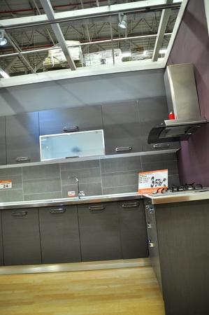 Ko�taş Istanbul Kartal, home improvement store, kitchen supplies section Stock Photo - 11816843