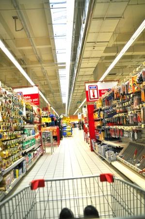 cassa supermercato: Istanbul Maltepe Carrefour ha aperto una nuova filiale. Editoriali