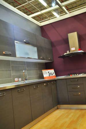 Koçtaş Istanbul Kartal, home improvement store, kitchen supplies section Stock Photo - 12385542