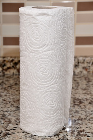 A close up of a kitchen paper Stock Photo - 12901470