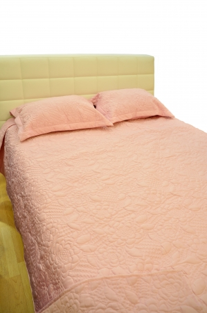Comfortable looking pillows and bed Stock Photo - 13791142