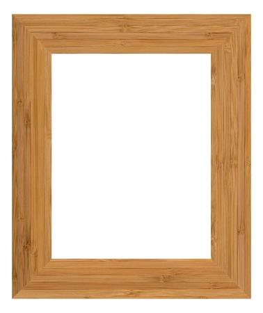 Isolated frame on black background photo