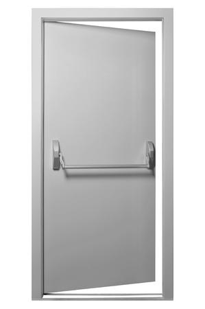 The details of the emergency exit door handle