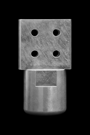 Close up of metal accessory photo