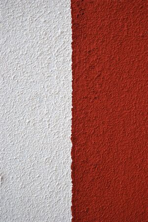 burgundy background: Painted canvas, red and white colors on rough surface Stock Photo