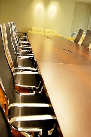 comité d entreprise: Des salles de conférence et table de réunion Une photo d'une salle de conférence dans une entreprise high-tech