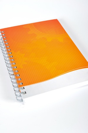 surname: Blank spiral notebook ready for writing Stock Photo