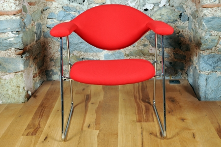 In a fantastic location on the office chair Stock Photo - 24470005