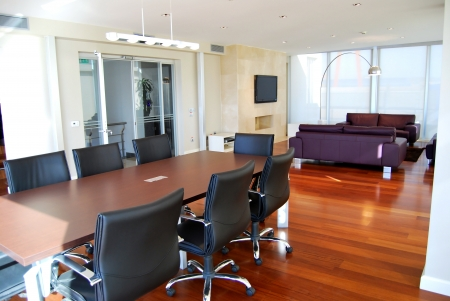 Conference halls and meeting table