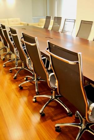 comit� d entreprise: Des salles de conf�rence et une table de r�union