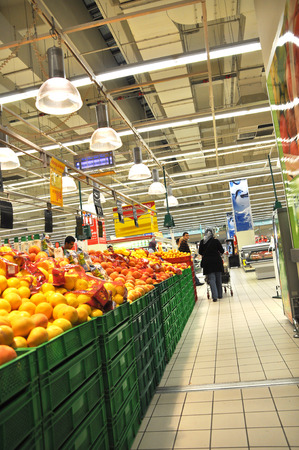 carrefour: Istanbul Maltepe Carrefour has opened a new branch  Fruit section