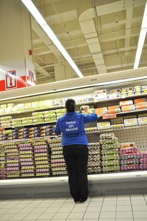 carrefour: Istanbul Maltepe Carrefour has opened a new branch   Deli section