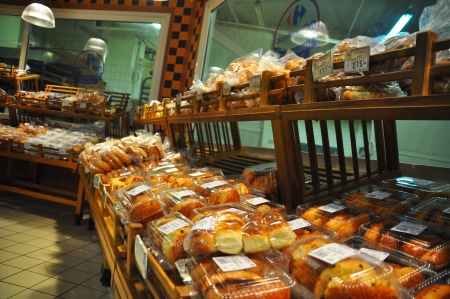 carrefour: Istanbul Maltepe Carrefour has opened a new branch  Bread section