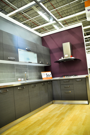 Istanbul Kartal, home improvement store, kitchen supplies section