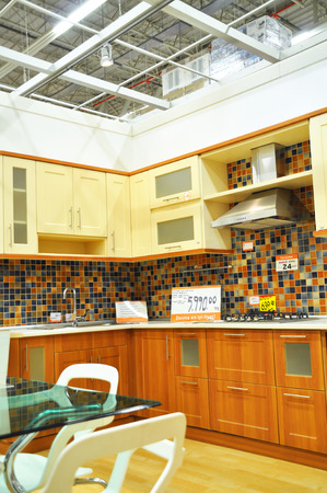 home improvement store: Istanbul Kartal, home improvement store, kitchen supplies section