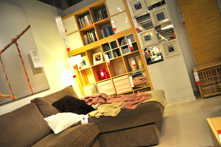 home improvement store: Ikea, home improvement store, furniture section
