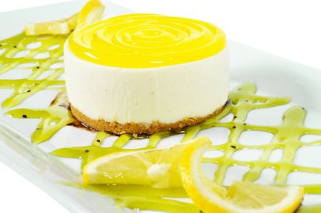 Good looking, delicious and beautiful lemon cake