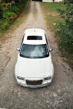 chrysler: Front view of the Chrysler 300C