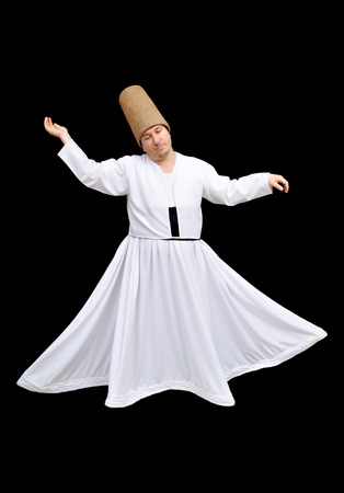 whirling: Whirling dervish, a show of religious