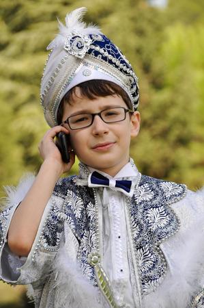 Turkey to become children circumcised. Children wear costumes sultan before circumcision.