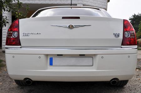 chrysler: Back view of the Chrysler 300C Editorial