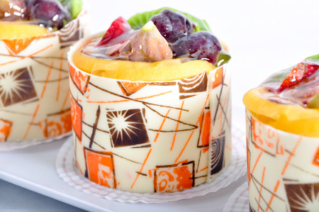 wedding customs: Good looking, delicious and beautiful fruit cake
