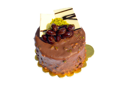 Good looking, delicious and beautiful cacao cake