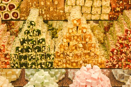 turkish delight: Nuts and peanuts in the Turkish delight