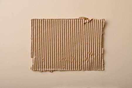 torn cardboard: A torn cardboard, with all the details